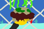 SpongeBob's Disgusting Patty