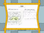 Spongicus storyboard panels-2