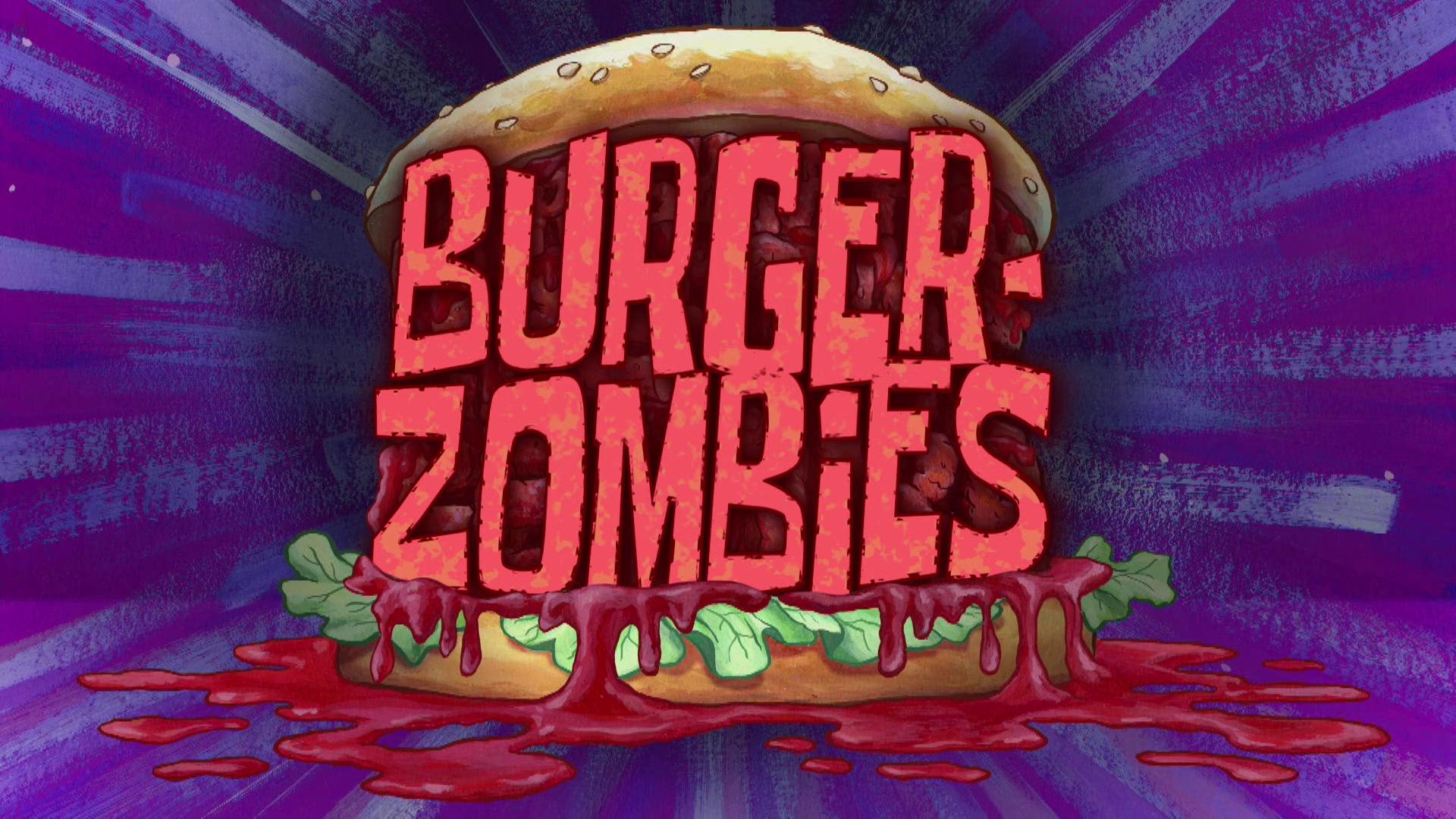 Burger-Zombies