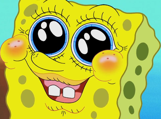 Filefunny Spongebob Face In Tutor Sauce Png