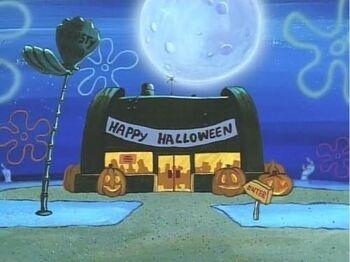 Halloween Krusty Krab