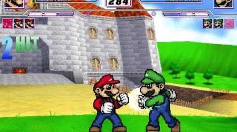 MUGEN Mario vs Luigi Part 1-1502207186