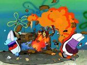 Krusty Krab Explosion