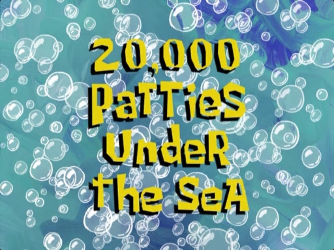20000 patties under the sea
