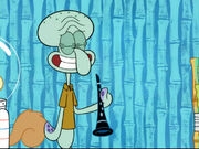 Squidward Plays His Clarinet and the Earworm Leaves 3