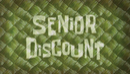Senior Discount (Title Card)