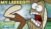 "Every ""MY LEG!"" Ever in SpongeBob 🦵 ft"