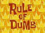 Rule of dumb2