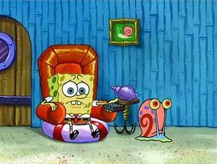 File:SpongeBob Watching TV With Gary.png