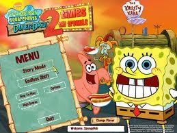 spongebob diner dash games free download
