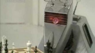 K9 plays chess - Doctor Who - The Sunmakers - BBC