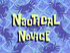 Nautical Novice title card