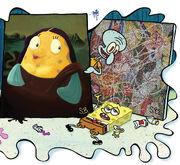 SpongeBob-Mrs-Puff-Mona-Lisa-2