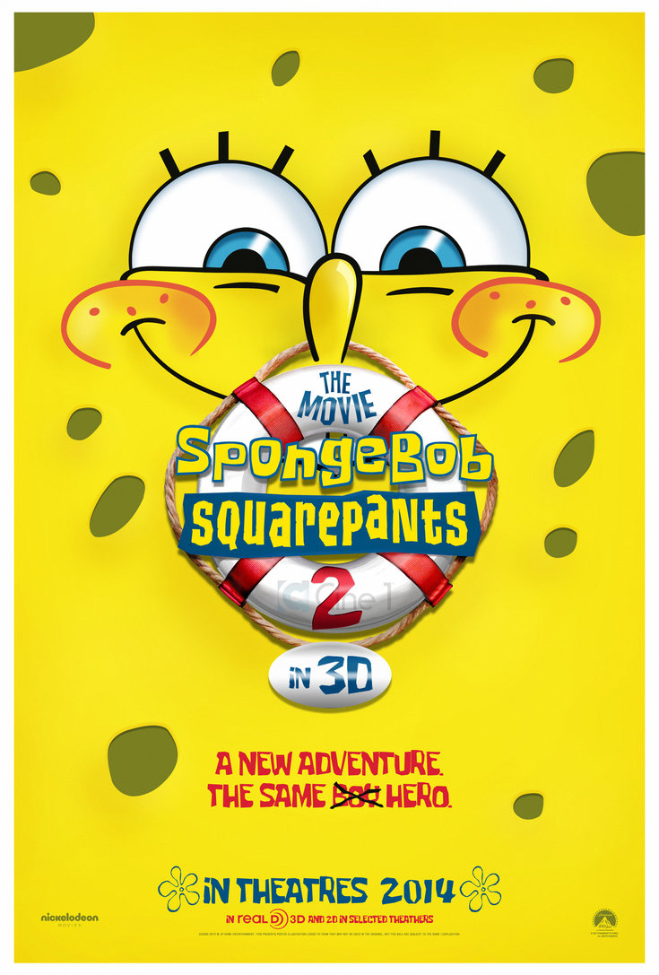 spongebob squarepants the movie 2 teaser poster by jphomeentertainment d4u7349jpg - Spongbob 2