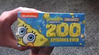 SpongeBob SquarePants The Best 200 Episodes Ever DVD Unboxing