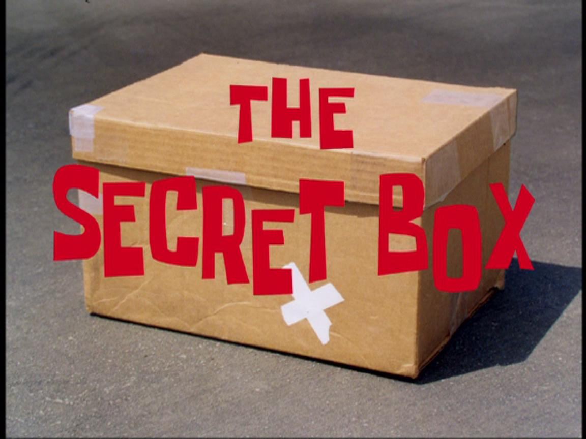 The Secret Box | Encyclopedia SpongeBobia | FANDOM powered by Wikia