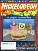 Nickelodeon Magazine cover November 2004 SpongeBob SquarePants movie