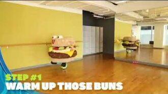SpongeBob - Krabby Patty Dance Tutorial FB