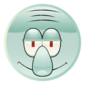 Squidward sticker