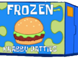 Frozen Krabby Patty (food)