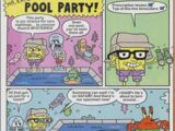 Mr. Krabs' Pool Party!