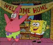 Patrick saying merry christmas