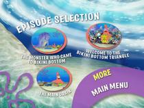 Legends of Bikini Bottom DVD episode selection screen 1