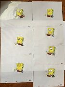 7-NICKELODEON-SPONGEBOB-Original-Production-Animation-Cels-IN