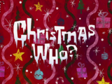 Christmas Who?/transcript