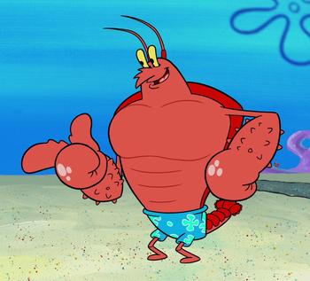 Larryappearances Spongebob Squarepants