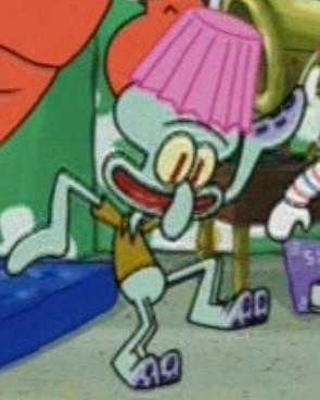 Image squidward with a lamp shade on his headg encyclopedia filesquidward with a lamp shade on his headg aloadofball Choice Image