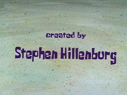 Created by Stephen Hillenburg SD
