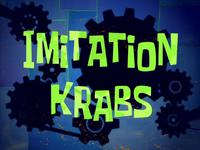Imitation Krabs title card