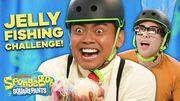 Jelly Fishing IRL Challenge SpongeBob SmartyPants Ep