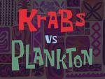 Krabs vs. Plankton title card