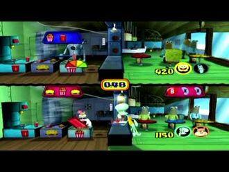 SpongeBob SquarePants Lights, Camera, Pants! - Full GameCube walkthrough