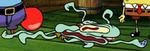 Squidward Flattened