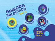 Disc 2 episode selection menu 2-0