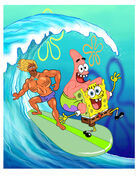 SpongeBob Big One promo art