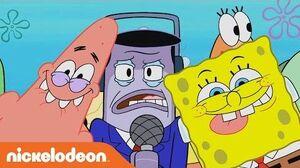 SpongeBob SquarePants Perch Perkins LOVES Frozen Krabby Patties Nick