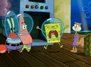 SpongeBob at Overbooked