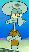 Squidward Arms Crossed