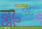 Deep Sea Leap Game Over