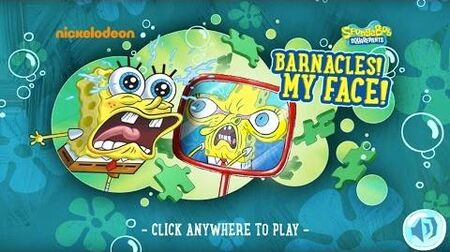 SpongeBob SquarePants Barnacles! My Face!