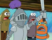 Sandy, SpongeBob, and the Worm 034