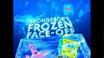 SpongeBob's Frozen Face Off Official Promo