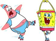 SpongeBob & Patrick Sport 1