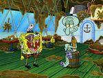 SpongeBob Beaten Up