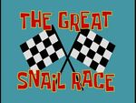 The Great Snail Race