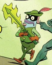 Young Green Harpoon